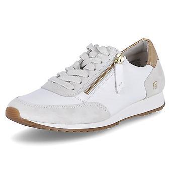 Paul Green 4979008SUEDEMASTERCALFICEWHITE universal all year women shoes