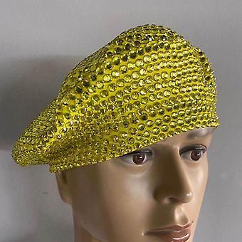 Mode volledige strass baret hoed