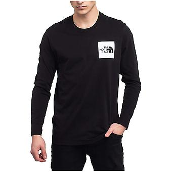 North Face Fine Tee NF0A37FTKY41 universal miesten puserot