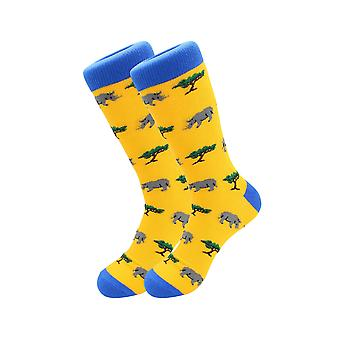 Exotic Animals Casual Dress Socks