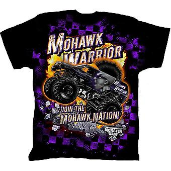 Boys mohawk warrior shirt monster jam apparel