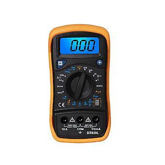 DT830L Digital Multimeter Tester Current Resistance Electric Meter