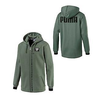 Puma Miesten Kapinalohko Full Zip Huppari Collegepaita Khaki 852401 23