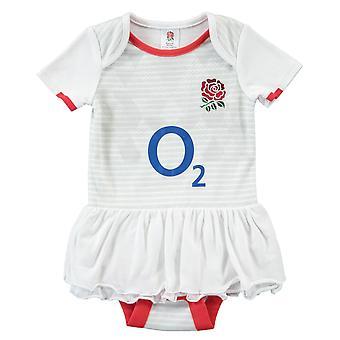 England RFU Rugby Baby Girls Tutu | White | 2021