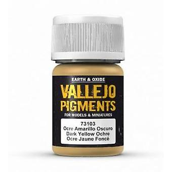 VAL73103 Vallejo Pigment - Dark Yellow Ochre