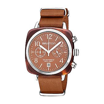 Briston 20140.SA.T.38.NTC Clubmaster Classic Terracotta Acetate Wristwatch Brown