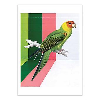 Art-Poster - Graffiti bird - Seven trees