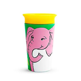 Munchkin miracle 360 eco sippy cup elephant 207ml