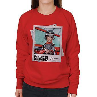 Stingray George Phones Sheridan Driving Submarine Women's Sweatshirt