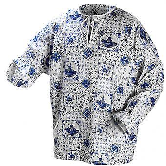 Bloes Delfsblauw Heren Textiel Bt433301