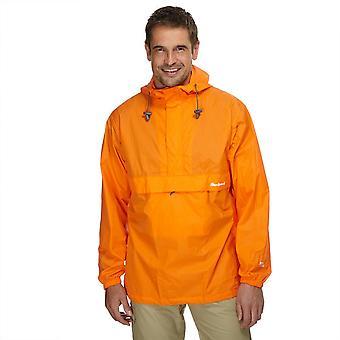 Ny Peter storm menns Pakkvennlig cagoule oransje