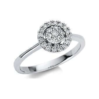 Luna Creation Promessa Ring Illusion 1U481W854-3 - Ringweite: 54