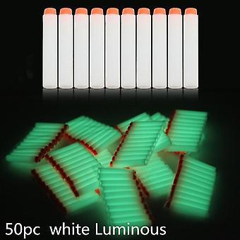 Hvid lysende blød kugle Refill Whistler Dart Sniper