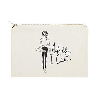 Eigenlijk kan ik gedrukte cosmetische tas