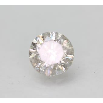 Certified 1.01 Carat H SI2 Round Brilliant Enhanced Natural Diamond 6.12mm 3VG