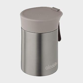 New Aladdin Enjoy Vacuum 0.4L Food Jar Silver