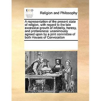 A Representation of the Present State of Religion - with Regard to th