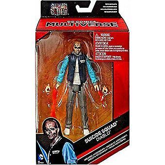 Dc comics  suicide squad diablo action figure 6 inches