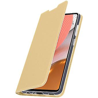 Cover Samsung Galaxy A72 Function Video Holder Dux Ducis golden