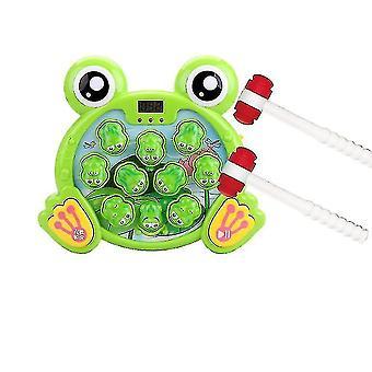 interaktiv knerte en frosk spill, holdbar pounding leketøy, hjelper finmotorikk, morsomme gaver til barn