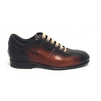 Men's Shoes Harris Soccer Bottom Vegas Red/ Leather Lemon/ Crack Cocoa U17ha106