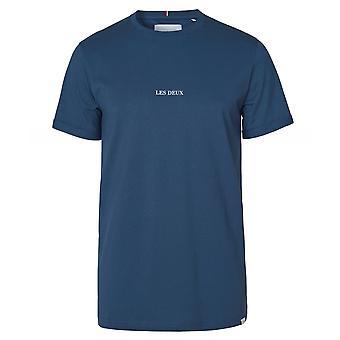 Les Deux Crew Neck Lens T-Shirt