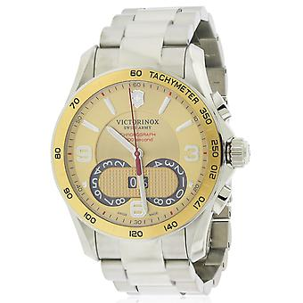 Swiss Army Victorinox Chronograph Stainless Steel Mens Watch 241619