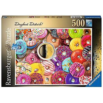 Ravensburger Jigsaw Puzzle Doughnut Disturb! 500p