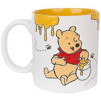 Winnie The Pooh Happy Face Bier 20oz keramisk krus