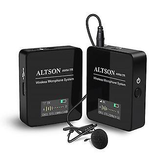 Bezdrôtový mikrofónový systém ATLSON UHF s vysielačom prijímača s potlačením hluku