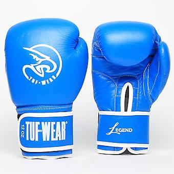 Tuf Wear Legend Leather Sparring Glove Blue