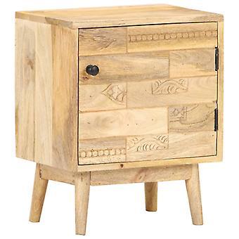 vidaXL Bedside Table 40x30x50 cm Solid Wood Mango