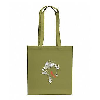Texlab VEND-158790, Unisex Fabric Bag Adult, Olive, 38 cm x 42 cm