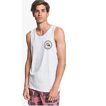 Quiksilver Close Call Hihaton T-paita valkoinen