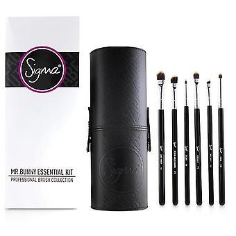 Sigma kauneus Mr. pupu Essential Kit ammatillinen harja kokoelma-# musta 13Pcs