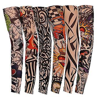 Cool tetovanie Unisex Elasticity Kryt Uv Sun Protection Arm rukávy