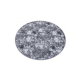 Rug CONCRETE circle grey