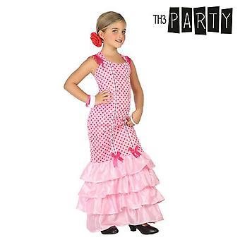 Disfraz para niños Bailarina de flamenco rosa