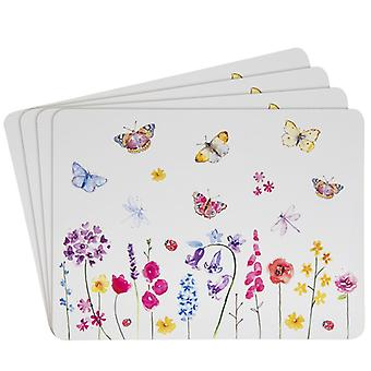 Butterfly Garden Placemats (Set of 4) by Lesser & Pavey