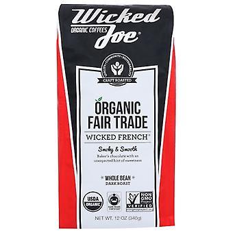 Wicked Joe Coffee Coffee Wicked Frnch Whlbn, kotelo 6 X 12 Oz