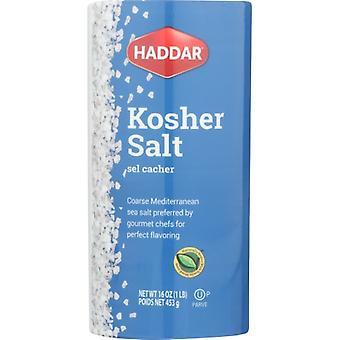 Haddar Salt Kosher, حالة 12 X 16 Oz
