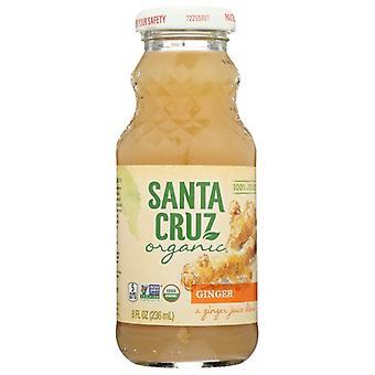 Santa Cruz Juice Ginger Org, Case of 12 X 8 Oz