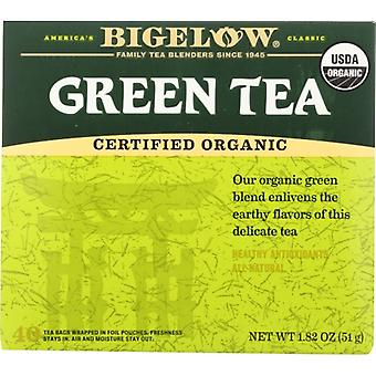 Bigelow Tea Grn Org 40Bg, Case of 6 X 1.82 Oz