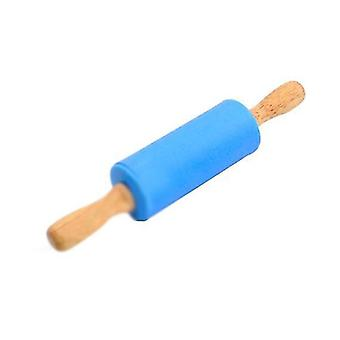 Kitchen Baking Tools Flour Stick Dumpling Stick Non Stick Silicone Flour Stick(Blue)