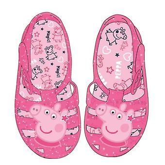 صنادل الأطفال بيبا الخنزير الوردي