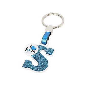 אות S של מחזיק מפתחות