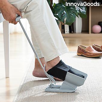 Sukka-apu ja kenkätorvi sukka remover Shoeasy InnovaGoodien kanssa