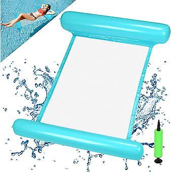 Wasserhängematte Aufblasbare, Luftmatratze Pool Aufblasbares Schwimmbett Wasser Hängematte Float