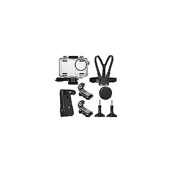 40M Waterproof Protective Case Shell Backpack Clip Chest Belt Strap Mount Harness for DJI OSMO