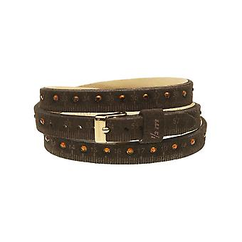 Il mezzometro strass leather bracelet  bms1309_s